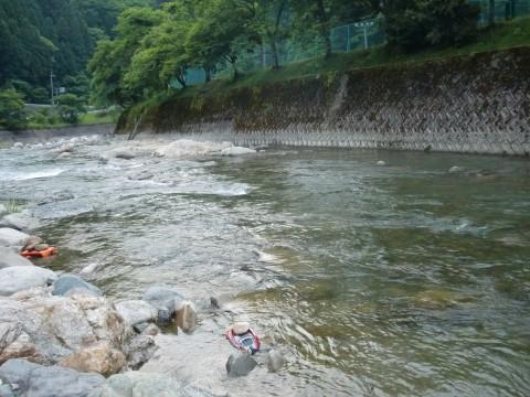 揖保川鮎解禁2011の写真