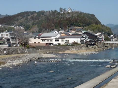 3月9日長良川アマゴ釣り2