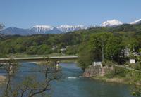 安曇野風ゆら からの風景の写真
